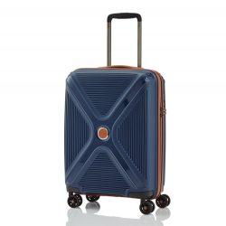 Titan PARADOXX S kék 4 kerekű ütésálló kabin bőrönd