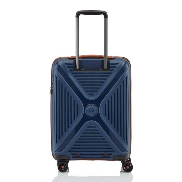 Bőrönd TITAN Paradoxx S kék 4 kerekű kabin méret