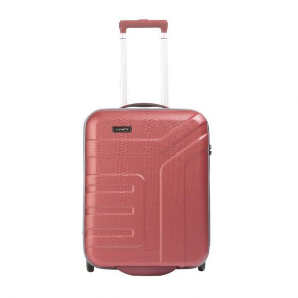 Bőrönd TRAVELITE Vector S korall 2 kerekű könnyű kabin