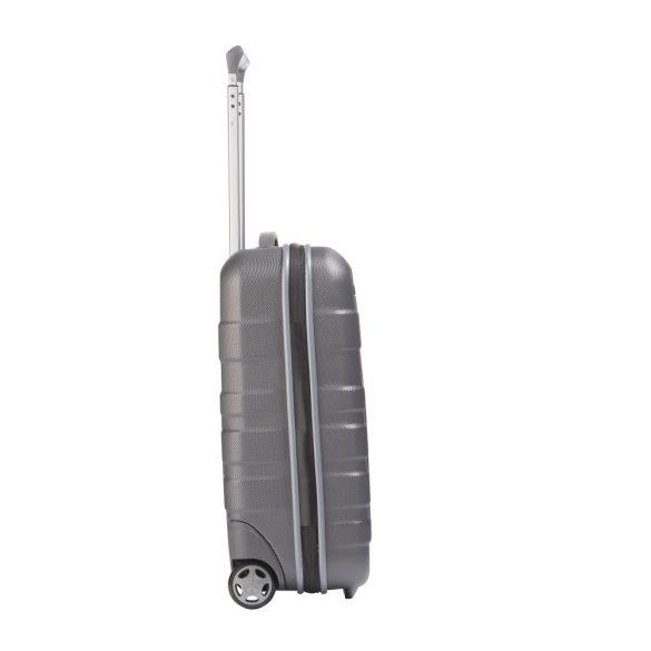Bőrönd TRAVELITE Vector S antracit 2 kerekű könnyű kabin