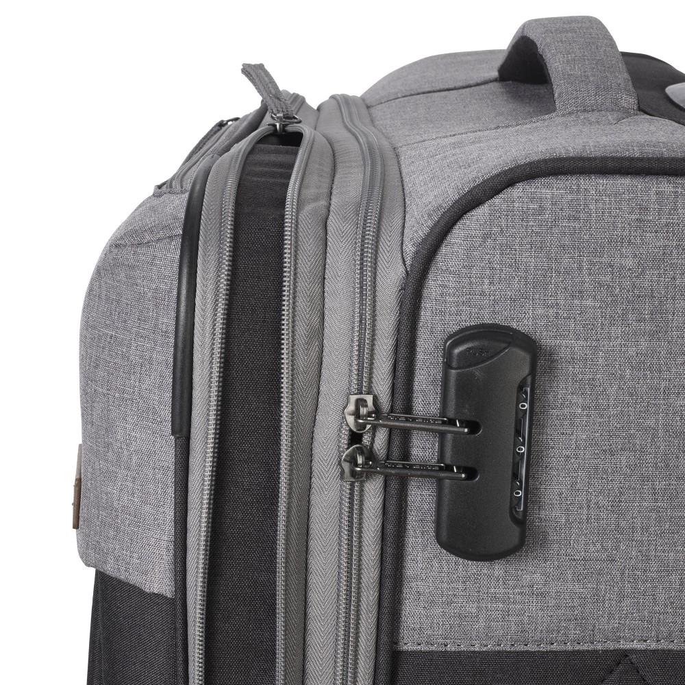 Travelite NEOPAK M antracit négykerekű bővíthető közepes bőrönd ... ff09774164