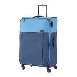 Bőrönd TRAVELITE Neopak L kék 4 kerekű bővíthető nagy méret