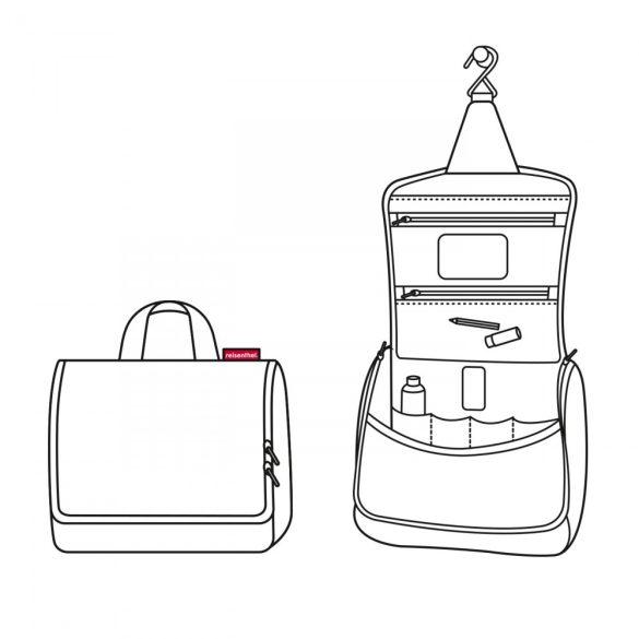 Kozmetikai táska REISENTHEL Toiletbag Színes pöttyös