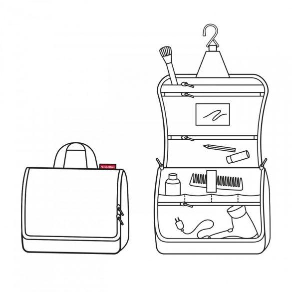 Kozmetikai táska REISENTHEL Toiletbag XL Fekete