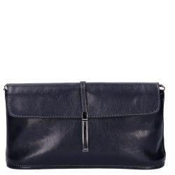 KAREN 020 kék rostbőr női kicsi alkalmi táska