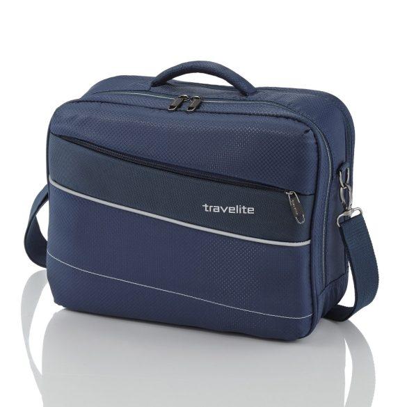 """Kabintáska TRAVELITE Kite kék kézipoggyász méretű laptoptartós 15,6"""""""
