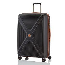 Titan PARADOXX L fekete 4 kerekű ütésálló nagy bőrönd