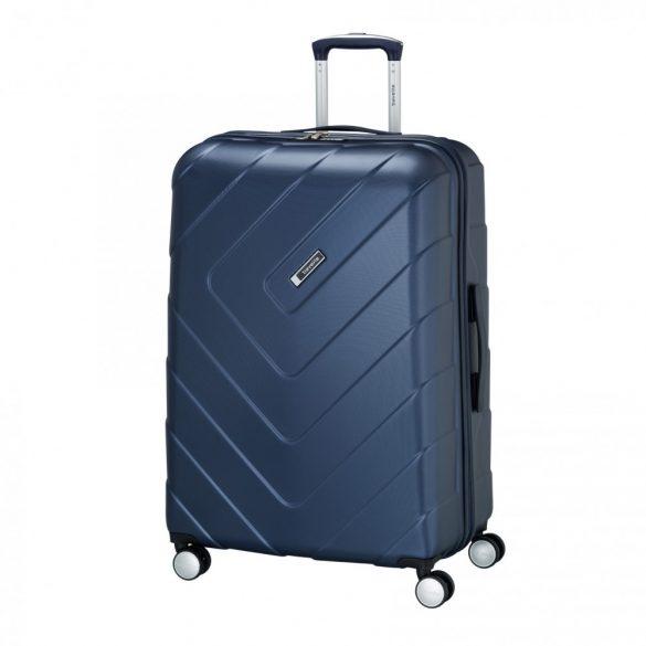 Bőrönd TRAVELITE Kalisto L kék 4 kerekű nagy méret