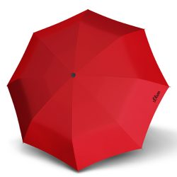 S.OLIVER piros összecsukható esernyő