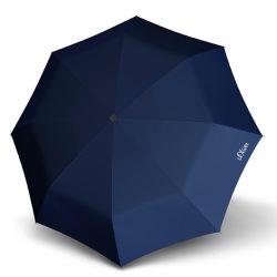 S.OLIVER kék összecsukható esernyő