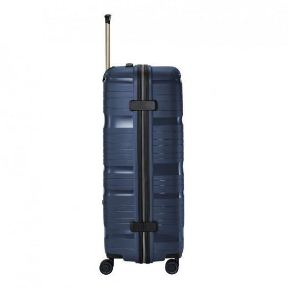 Bőrönd TRAVELITE Motion L kék 4 kerekű nagy méret