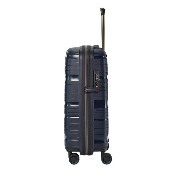 Bőrönd TRAVELITE Motion S kék 4 kerekű kabin méret