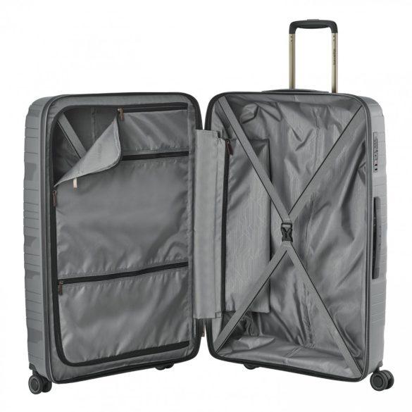 Bőrönd TRAVELITE Motion L antracit 4 kerekű nagy méret