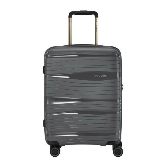 Bőrönd TRAVELITE Motion S antracit 4 kerekű kabin méret