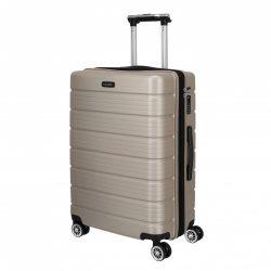 Bőrönd TRAVELITE Soho M pezsgő 4 kerekű bővíthető közepes méret