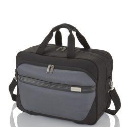 "Travelite METEOR fekete-szürke laptoptartós kabintáska 15,6"""