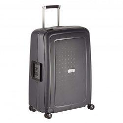 Samsonite S'cure DLX spinner (4 kerék) 75cm grafit nagy bőrönd