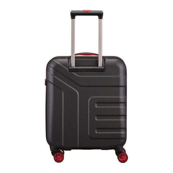 Bőrönd TRAVELITE Vector S fekete 4 kerekű kabin méret