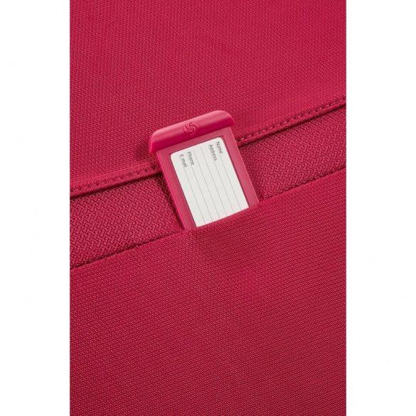 SAMSONITE Duosphere bővíthető spinner (4 kerék) 67cm piros közepes bőrönd