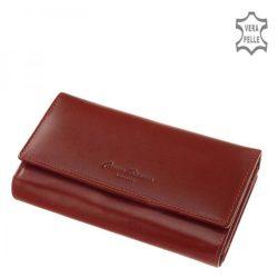 Pénztárca CORVO BIANCO cbs601 piros bőr kártyatartós