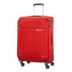 SAMSONITE Base Boost bővíthető spinner (4kerék) 66cm piros közepes bőrönd