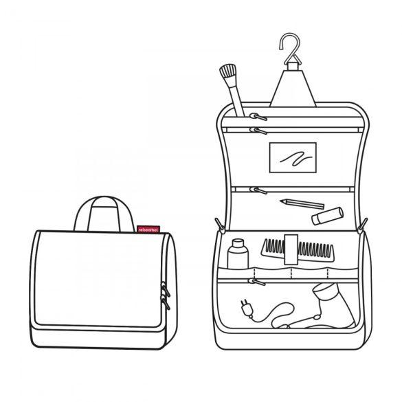 Kozmetikai táska REISENTHEL Toiletbag XL Színes pöttyös
