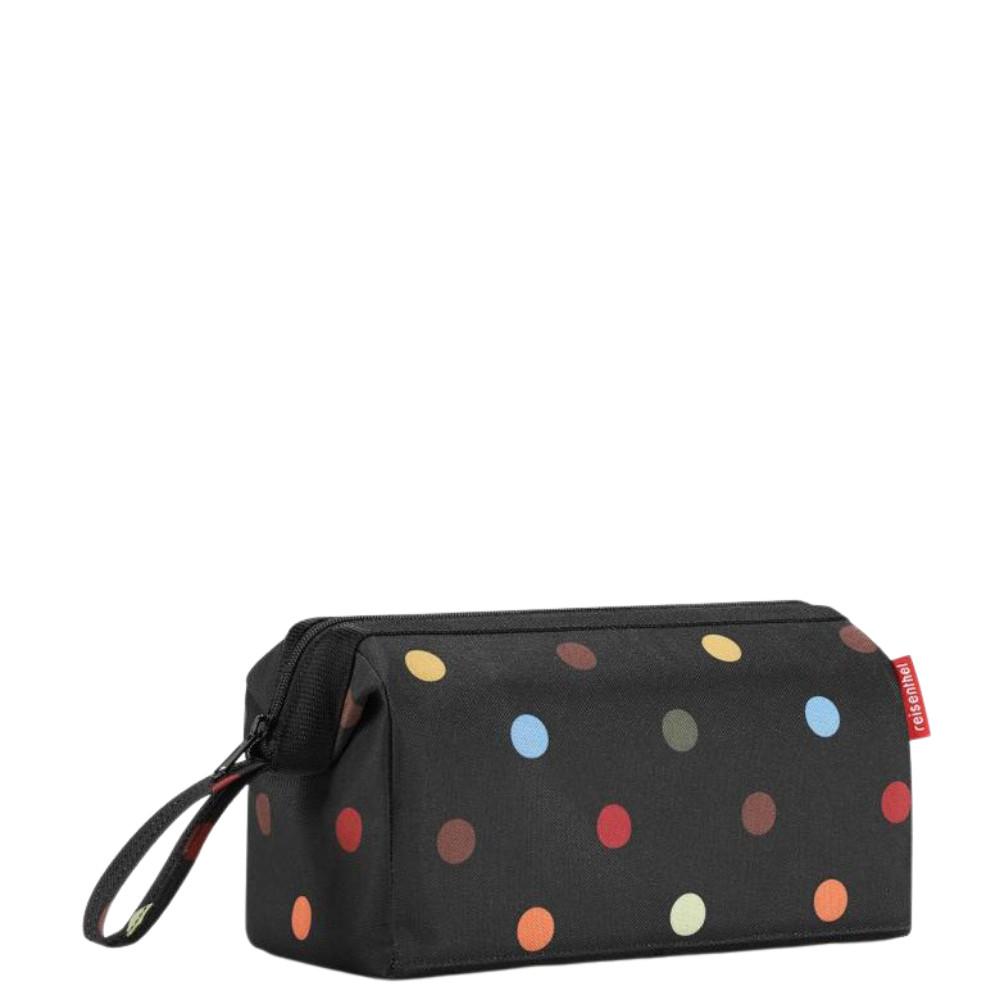 Reisenthel Travelcosmetic fekete pöttyös kozmetikai táska neszeszer ... 476f0a8f61
