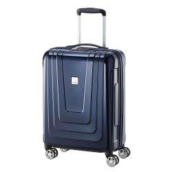 Bőrönd TITAN X-Ray S kék 4 kerekű kabin bőrönd
