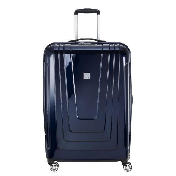 Bőrönd TITAN X-Ray L kék 4 kerekű nagy bőrönd