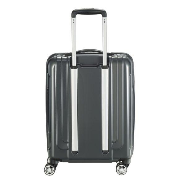 Bőrönd TITAN X-Ray S szürke 4 kerekű kabin bőrönd
