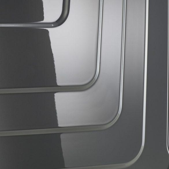 Bőrönd TITAN X-Ray M szürke 4 kerekű közepes bőrönd