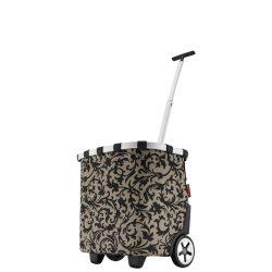 Reisenthel Carrycruiser barokk női gurulós bevásárló kosár