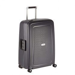 Samsonite S'cure DLX spinner (4 kerék) 69cm grafit közepes bőrönd