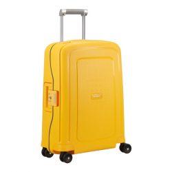 SAMSONITE S'cure spinner (4 kerék) 55cm sárga kabinbőrönd
