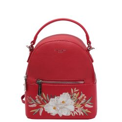 Hátizsák DAVID JONES CM5150 Piros virágos