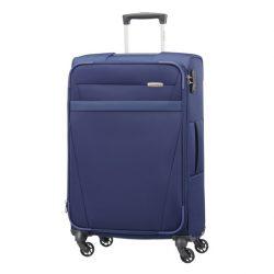 SAMSONITE NCS Auva spinner (4 kerék) 69cm kék közepes bőrönd