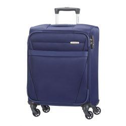 SAMSONITE NCS Auva spinner (4 kerék) 55cm kék kabinbőrönd