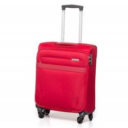 SAMSONITE NCS Auva spinner (4 kerék) 55cm piros kabinbőrönd