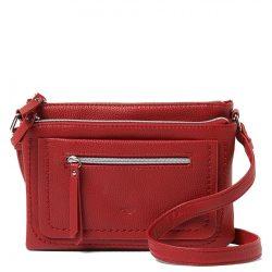 TOM TAILOR 24018-40 Piros női oldaltáska