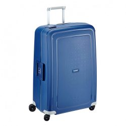 Samsonite S'cure spinner (4 kerék) 75cm kék nagy bőrönd