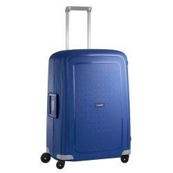 Samsonite S'cure spinner (4 kerék) 69cm kék közepes bőrönd