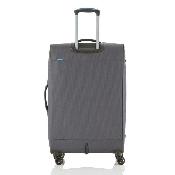 Bőrönd TRAVELITE Crosslite L antracit 4 kerekű bővíthető nagy méret