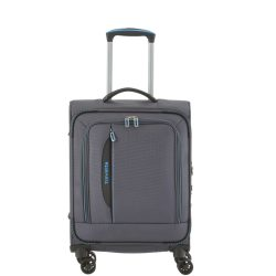 Travelite CROSSLITE S antracit 4 kerekű kis kabin bőrönd