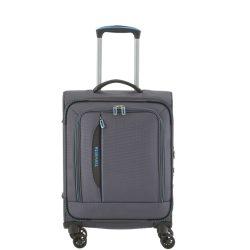 Bőrönd TRAVELITE Crosslite S antracit 4 kerekű kabin méret