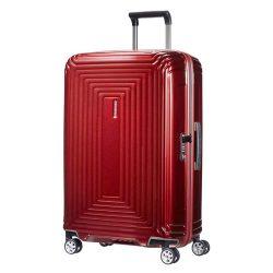 Bőrönd SAMSONITE Neopulse spinner (4 kerék) 69cm piros
