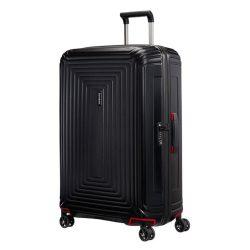 Samsonite Neopulse spinner (4 kerék) 69cm fekete közepes bőrönd