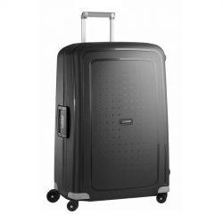 SAMSONITE S'cure spinner (4 kerék) 75cm fekete nagy bőrönd