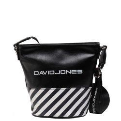 Oldaltáska DAVID JONES női Fekete 5965-3