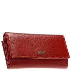 Pénztárca LA SCALA R155 piros bőr