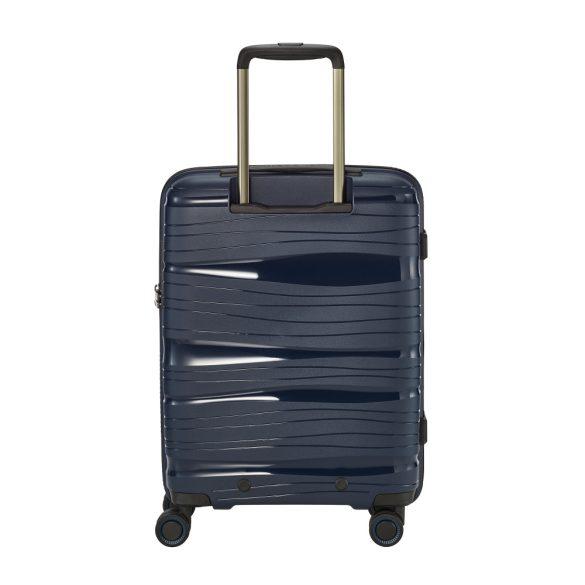 Bőrönd TRAVELITE Motion S kék 4 kerekű laptoptartós kabin méret
